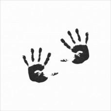 Handprint - P01-132M Stamp