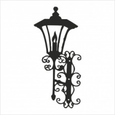 Street lamp - P01-146 Stamp