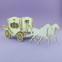 Small carriage - 1079 Cardboard