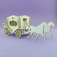 Small carriage - 1079 Cardboard
