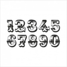 Numbers - P01-152 Stamp