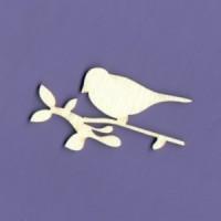 Bird on a twig 02 - 1111B Cardboard
