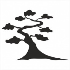 Tree - P01-303 Stamp