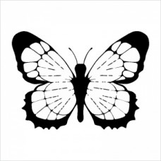 Butterfly 01 - P01-156 Stamp