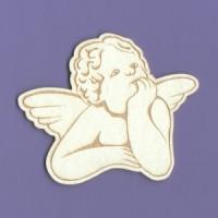 Pensive Angel - 1126 Cardboard