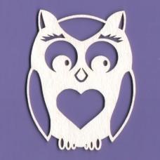 Owl - 0018 Cardboard