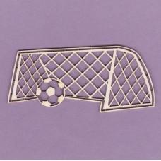 Ball in goal - 0038 Cardboard