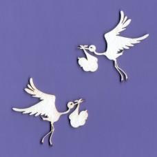 Stork small size - 0040 Cardboard