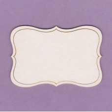 Decorative frame 01 small 2 pcs - 0202M Cardboard