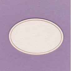 Decorative frame 02 small 2 pcs - 0203M Cardboard