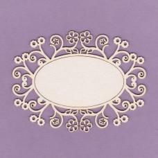 Decorative frame 04 - 0209 Cardboard