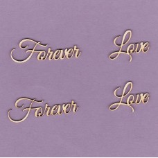 Forever love - T0213 Cardboard