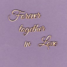 Forever together in love - T0215 Cardboard