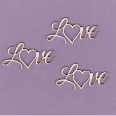 Love - T0219 Cardboard