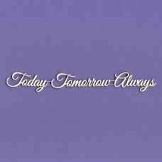 Today Tomorrow Always - 0220 Cardboard