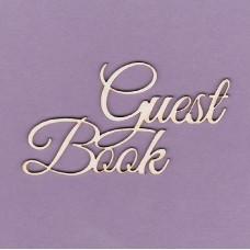 Guest book 3 - T0272 Cardboard