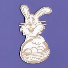 Happy bunny - 0275 Cardboard