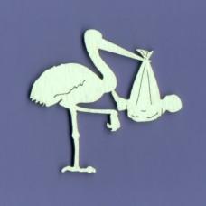 Stork large size - 0293D Cardboard