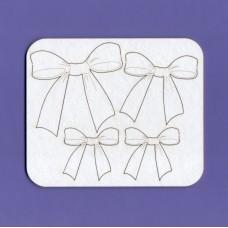 Bows set - 0337 Cardboard