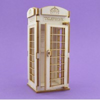 Telephone booth - 0363 Cardboard