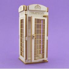 Telephone booth - 0363 Cardboard