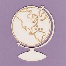Globe 01 - 0461 Cardboard