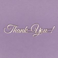 Thank you -T0475 Cardboard