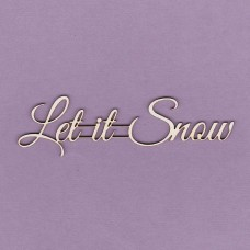 Let it snow - 0497 Cardboard