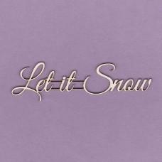 Let it snow - T0497 Cardboard