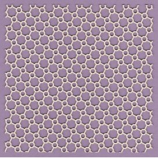 Panel oblique atoms 15 x 15 - 0525M Cardboard