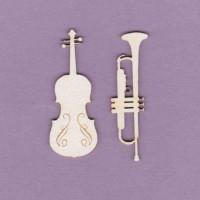Musical instruments - 0604 Cardboard