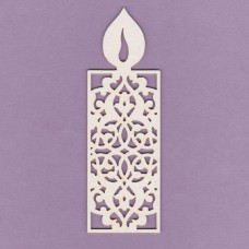 Openwork candle 02 small - 0637M Cardboard