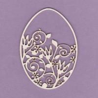Easter egg 02 - 0681 Cardboard