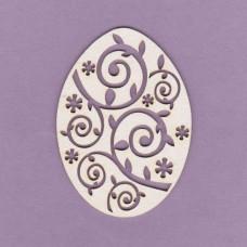 Easter egg 03 - 0682 Cardboard