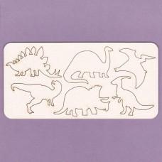 Dinosaurs set - 0733 Cardboard