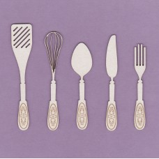 Kitchen set 6 cm - 0748M Cardboard