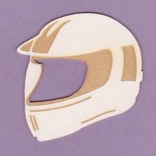 Helmet engraved - 0773 Cardboard