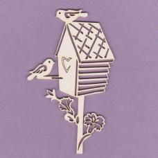 Birds booth 1 - 0798 Cardboard