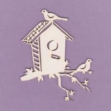 Birds booth 2 - 0799 Cardboard