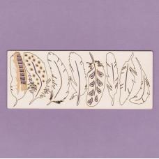 Feathers set - 0801 Cardboard