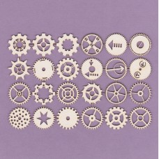Gearwheels set - 0802 Cardboard