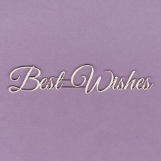 Best wishes - 0817 Cardboard