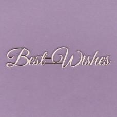 Best wishes - 0817 Cardboard