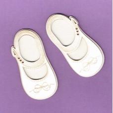 Little shoes engraved 01 - 0828 Cardboard