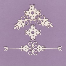 Ornaments set 05 - 0837 Cardboard