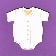 Baby bodysuit - 0865 Cardboard