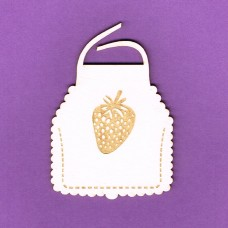 Pinny with strawberry - 0867 Cardboard