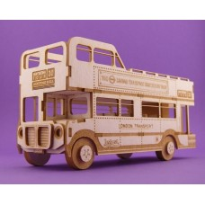 London Bus -T0881 Cardboard