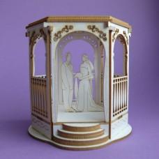 Wedding arbor - 0892 Cardboard