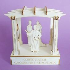 Wedding pergola - 0899 Cardboard
